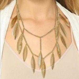 Rebecca Minkoff metallic statement necklace